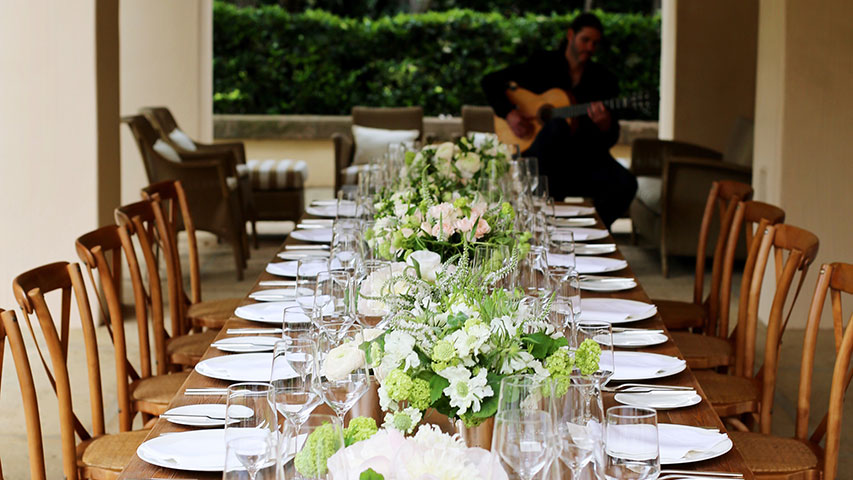 Intimate Wedding at Home